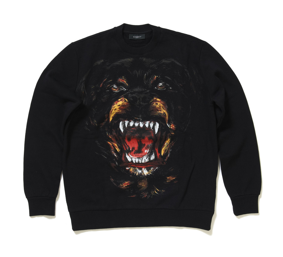 givenchy rottweiler sweater rt twlr black sweatshirt size. Black Bedroom Furniture Sets. Home Design Ideas