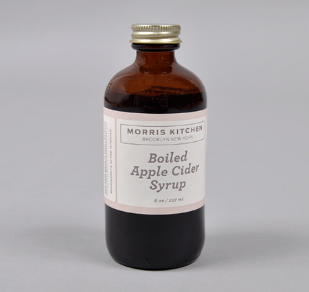 MORRIS KITCHEN - Hand Made Boiled Apple Cider Syrup, 8 oz Bottle