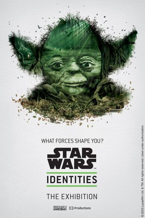 STAR WARS Identities: The Exhibition - poster(Yoda)