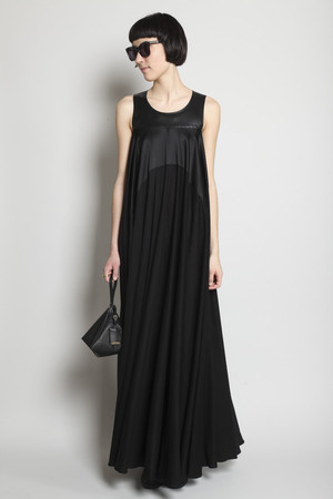 MAISON MARTIN MARGIELA - Paneled Maxi Dress
