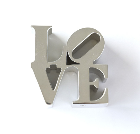Robert Indiana - LOVE Paperweight