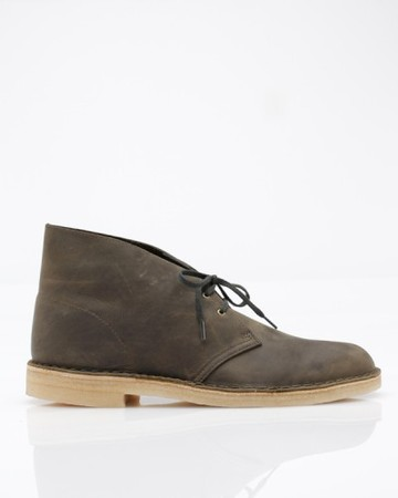 Desert Boot In Olive Leather