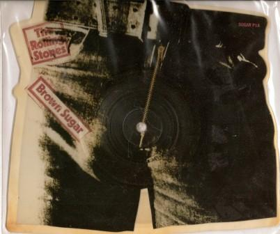 """The Rolling Stones - Brown Sugar 7"""" Picture Disc"""