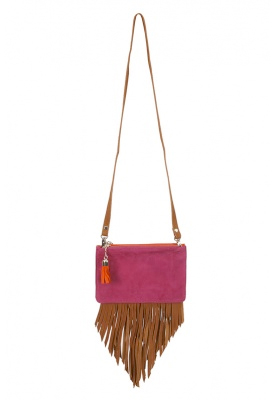 JEFFREY CAMPBELL - Jeffrey Campbell Suede Lopes Bag