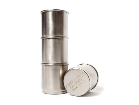 WINTERCHECK FACTORY - NESTING STEEL SHOT CUPS