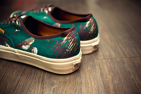 "VANS - Vans California 2012 Fall/Winter ""Birds"" Authentic CA Pack"