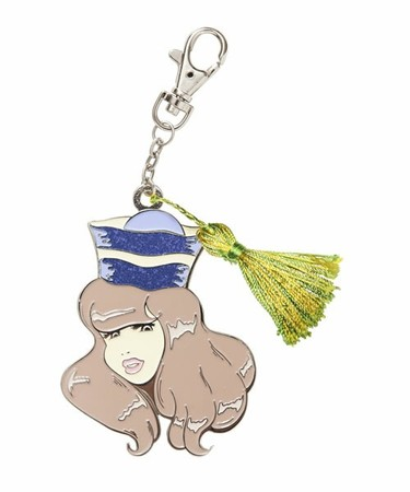MEG - 10TH ANNIVERSARY KEYRING YELLOW