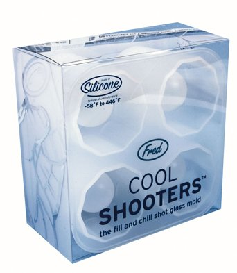 Fred and Friends - Cool Shooters Shot Glass Mold