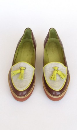 KAREN WALKER - XPointer Loafers