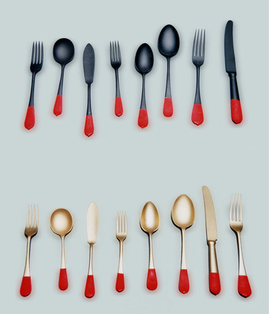 Pascal Anson - Reunification Cutlery