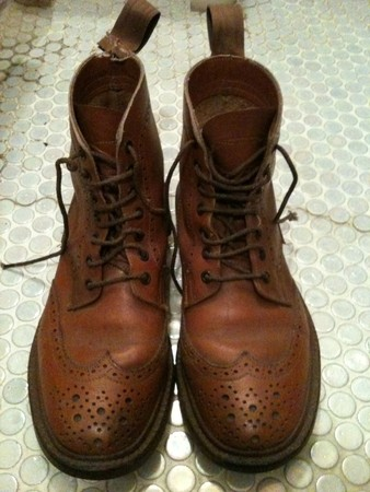 tricker's  - Country Wing chip  Lace up Shoes