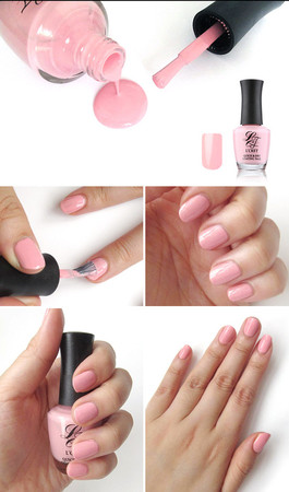 L Cret - [L CRET] Quick And Dry Coating Nail - Pink
