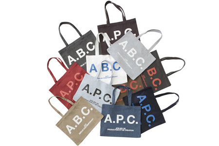 A.P.C. - A.P.C. x Art Berlin Contemporary Tote Bags