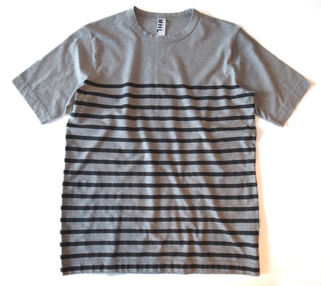 MHL. - PRINTED STRIPE T-SHIRT