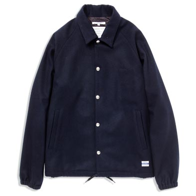 Bicester Wool Coach Jacket Navy Sumally サマリー