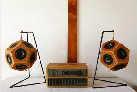 "sonihouse - The Dodecahedron Speaker System ""scenery"""