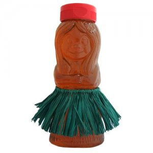 Hawaiian Hula Girl Organic Honey From Hawaii