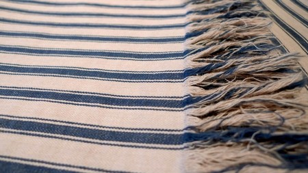 OLD JOE & CO. - Indigo Stripe Stole