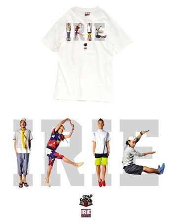 IRIE LIFE - FIRE BALL × IRIE LIFE 15th ANNIVERSARY COLLABORATION TEE
