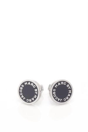 MARC BY MARC JACOBS - Enamel Logo Disc Studs