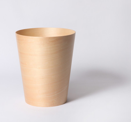 MARGARET HOWELL, SAITO WOOD - WOODEN BUCKET S NATURAL