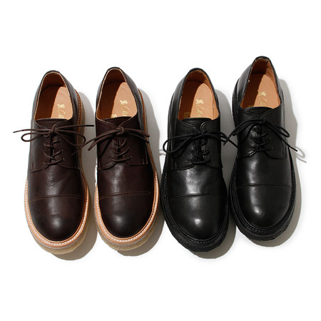 hobo - Straight Tip Rubber Shoes by Caminando