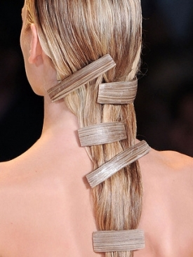 Carolina Herrera - Hair 2011