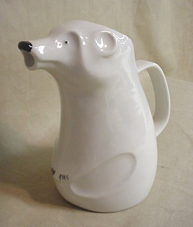 ARABIA DESIGN - polar bear pitcher / Richard Lindh