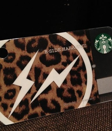 FRAGMENT DESIGN - Mini  Starbucks Card(B-SIDE HARAJUKU)