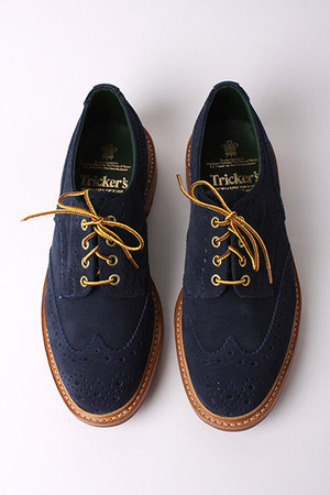 TRICKER'S FOR SCOUT - The Navy One