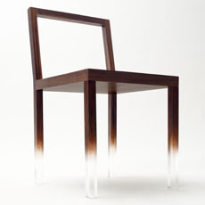 nendo - fade out chair