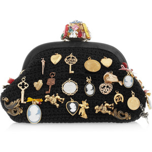 DOLCE&GABBANA - wool clutch