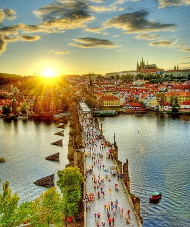 Prague - Charles Bridge at Prague