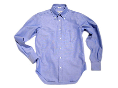 INDIVIDUALIZED SHIRTS - GREAT AMERICAN OXFORD SHIRTS / blue