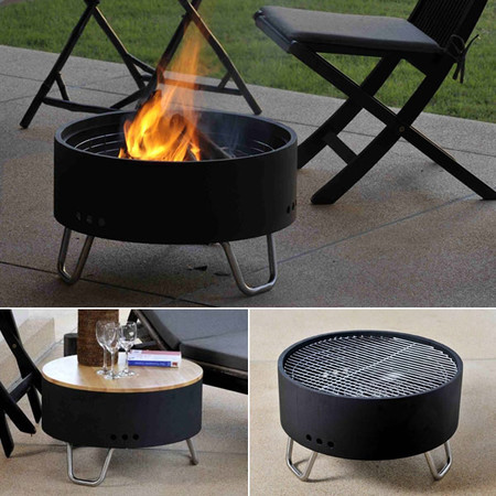 Revolver - Fire Pit & Table