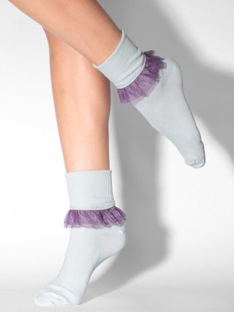 American Apparel - girly lace socks