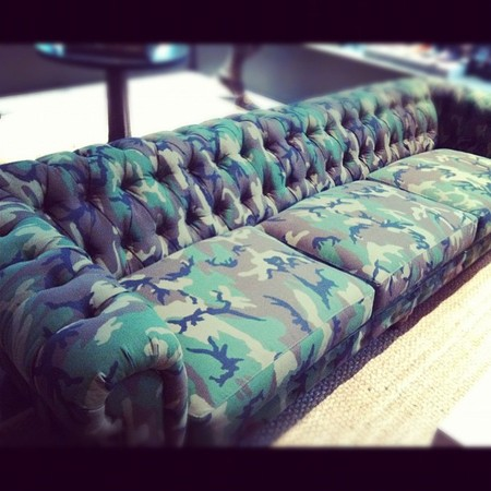 Nick Wooster - CAMO Couch