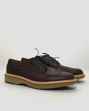 Alden for The Bureau - Brown Chromexcel Long Wing Blucher