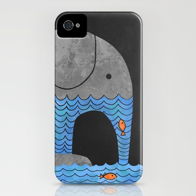 Terry Fan - Thirsty Elephant  iPhone Case