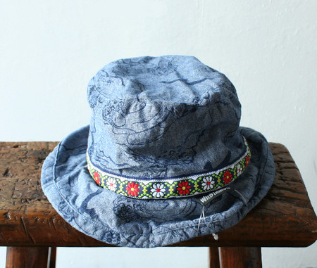 WILDTHINGS - CLIMBER PRINT CHAMBRAY HAT