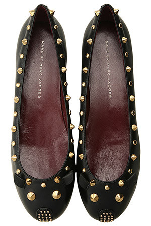MARC BY MARC JACOBS - スタッズ マウスシューズ