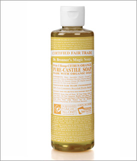 Dr.Bronner's - Citrus Liquid Soap  8 oz