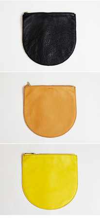 BAGGU - Leather Pouch