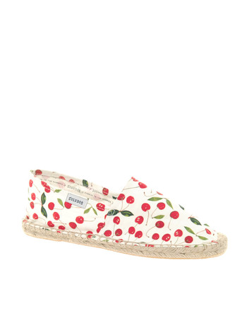 soludos - Cherry Printed Espadrilles