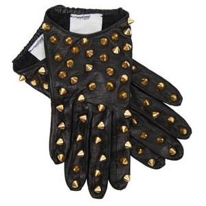 3.1 Phillip Lim  - studded leather gloves