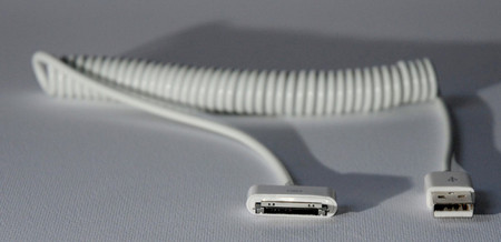 Curly Cable for iPad and iPhone
