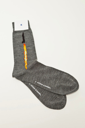 ADAM KIMMEL - Jet Dress Socks