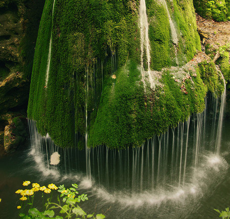 Romania - Big Waterfall in Carass Severin