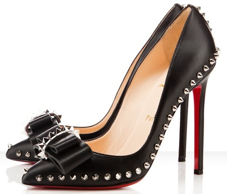 "Christian Louboutin -  ""Lucifer Bow"" Stiletto heels"