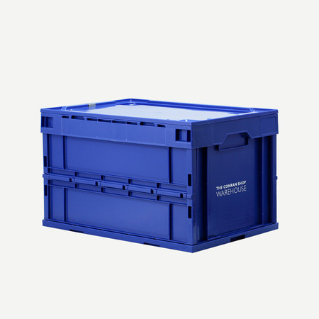 THE CONRAN SHOP, ザ・コンランショップ - FOLDING CONTAINER WITH LID 50L (WAREHOUSE ONLY)
